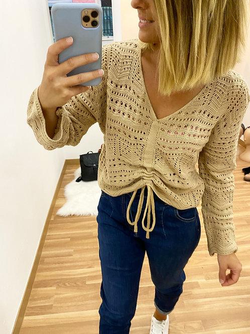 Suéter Lola Camel