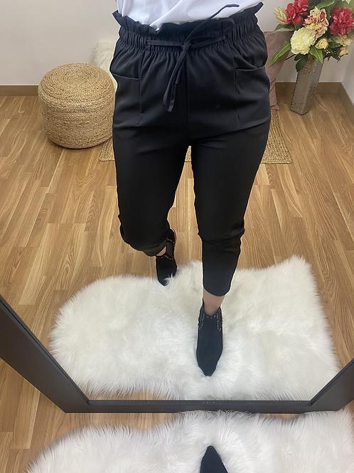 Pantalón Mercedes negro