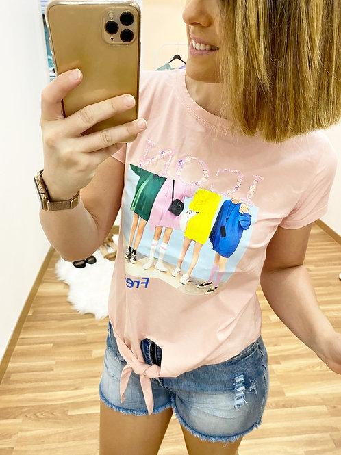 Camiseta Icon rosa