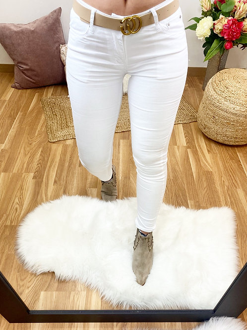 Jeans blancos push up!