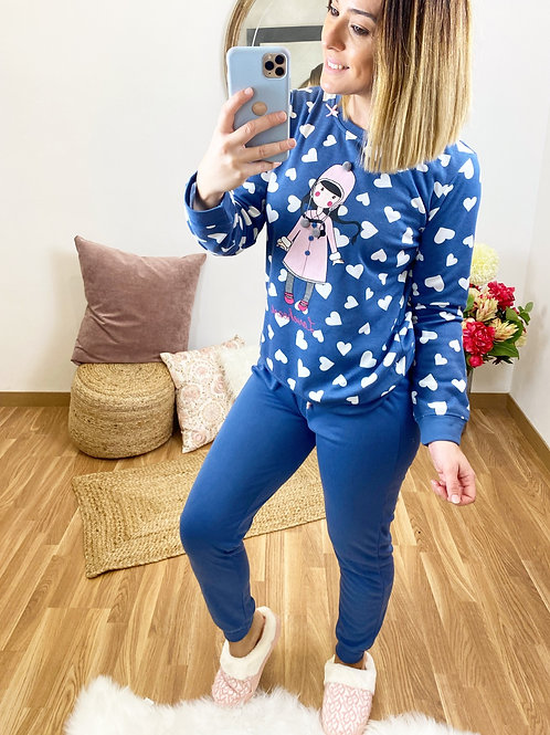 Pijama Nena azul