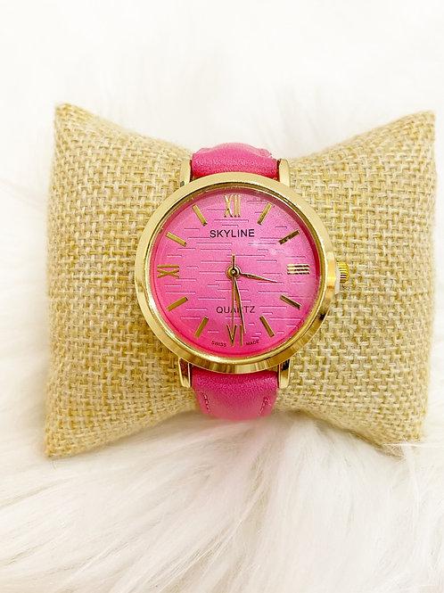 Reloj Fashion rosa