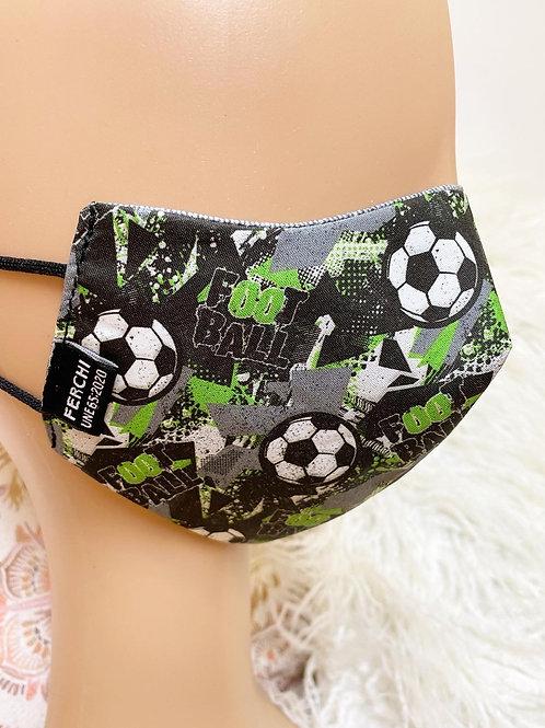 Mascarilla futbol junior