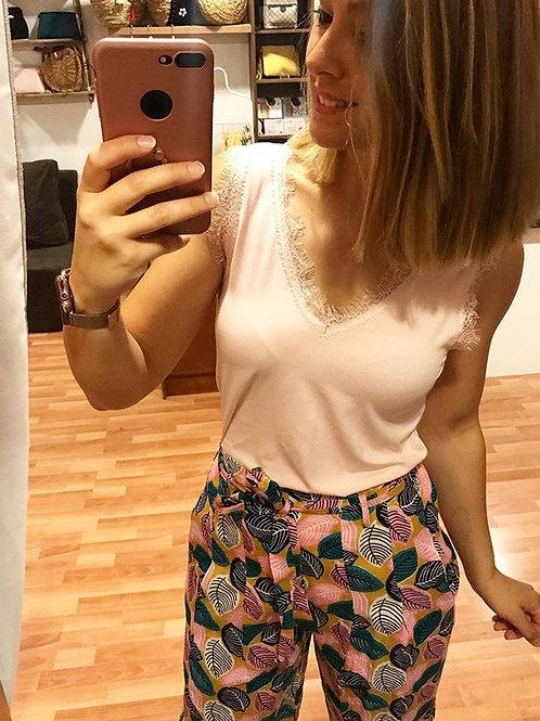 LENCERA ROSA PALO DE ALGODÓN