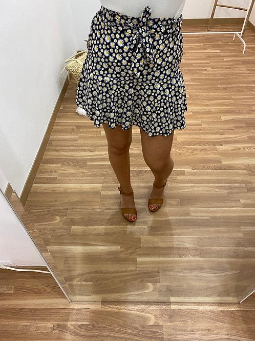 Falda pantalón Ángela negra