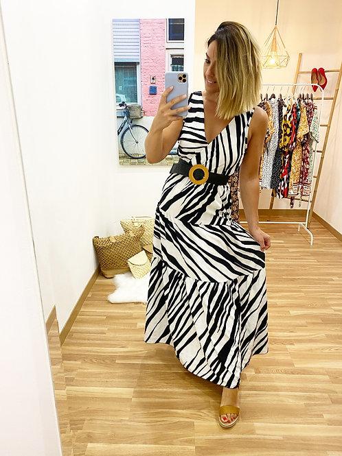 Vestido Macarena Cebra
