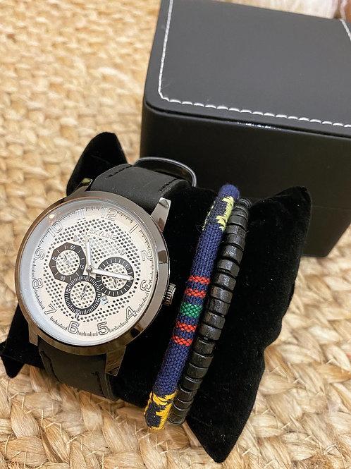 Reloj y pulsera para hombre