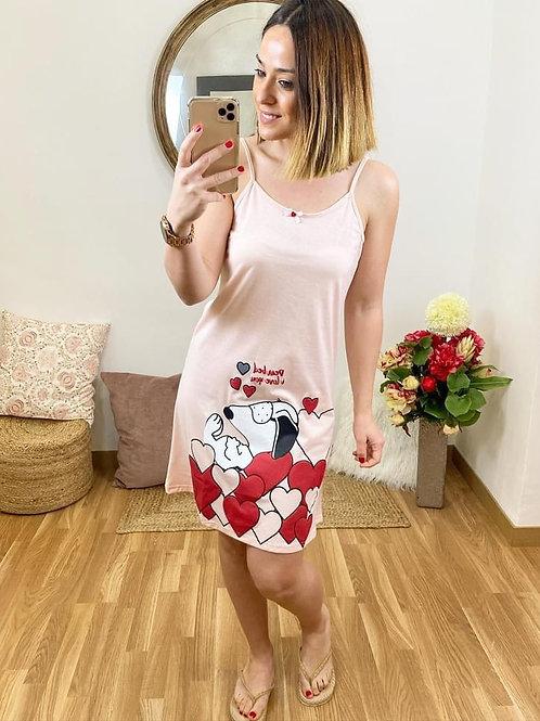 Batita Snoopy rosa
