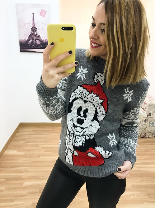 JERSEY MICKEY GRIS