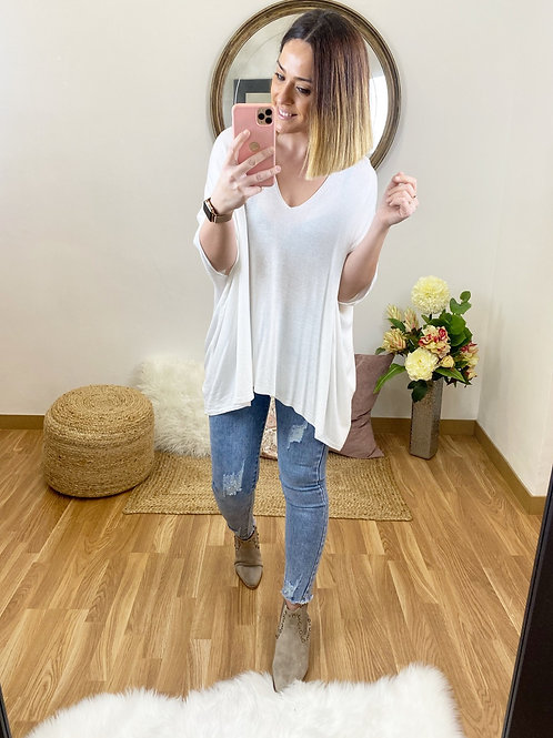 Suéter Camila blanco