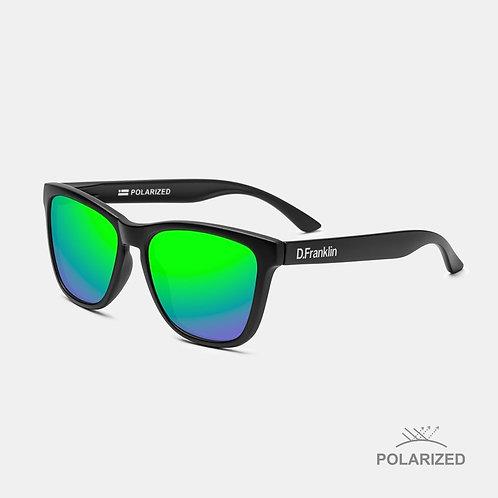 ROOSEVELT BLACK MATTE / GREEN POLARIZED