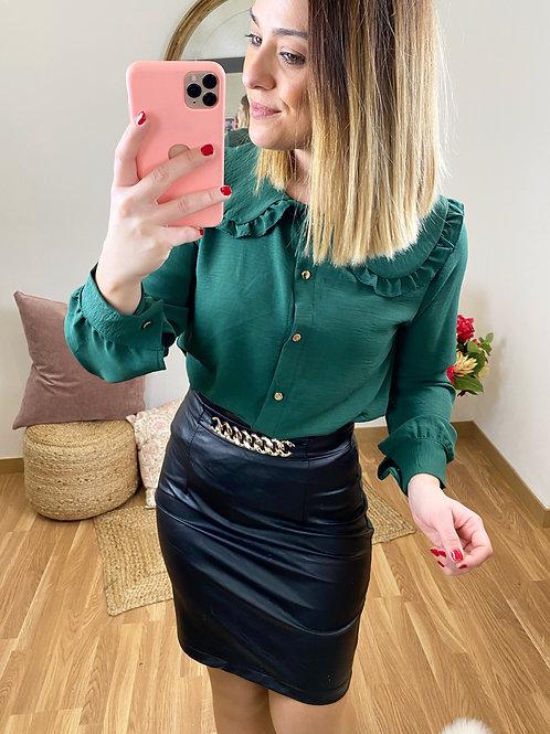 Camisa Isabel verde
