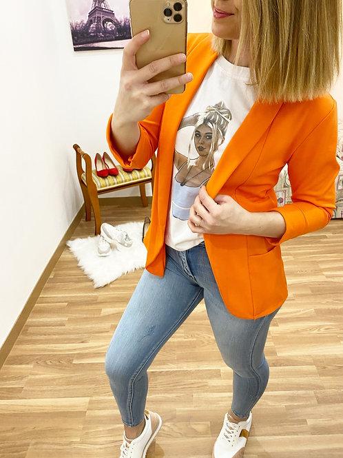Blazer naranja