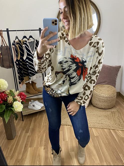 Suéter París chica