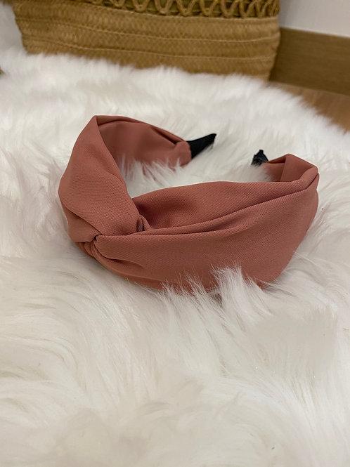 Diadema lisa rosa