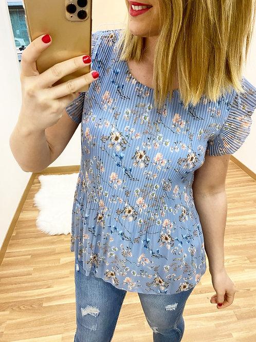 Blusa Amadeo azul