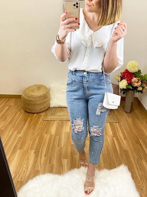 Camisa Rocío blanca