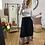Thumbnail: Falda midi leo plisada