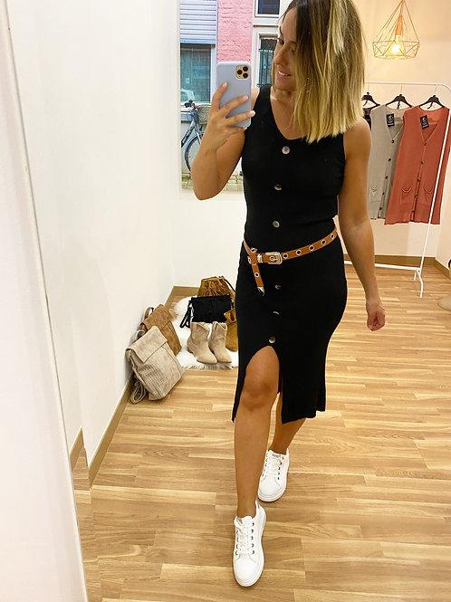 Vestido Grecia negro