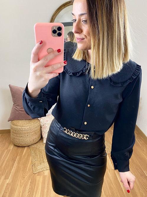 Camisa Isabel negra