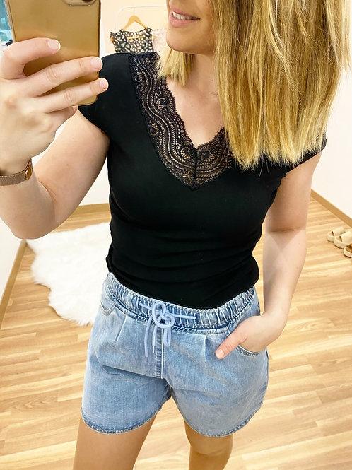 Camiseta Vanesa negra