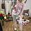 Thumbnail: Pijama llama rosa