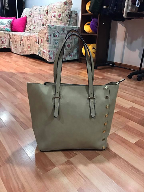 BOLSO SHOPPER BEIGE