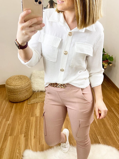 Camisa Stefani blanca