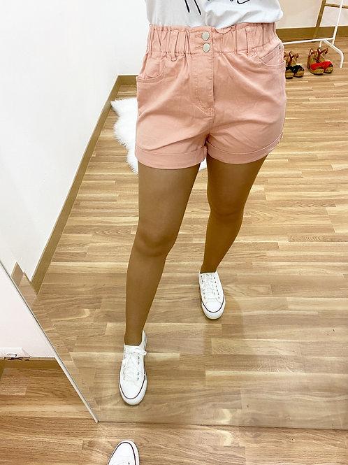 Short Cándida rosa