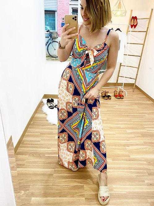 Vestido Turín marino