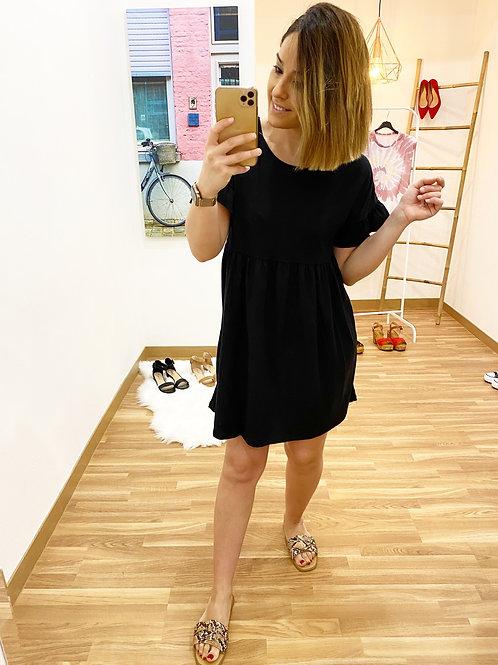 Vestido Marina negro