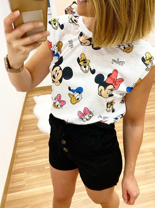 Camiseta Disney hombreras