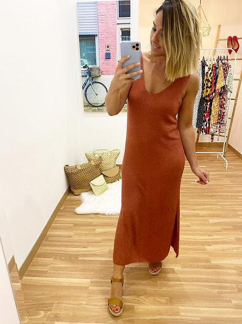 Vestido Lorena salmón