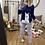 Thumbnail: Pijama llama marino