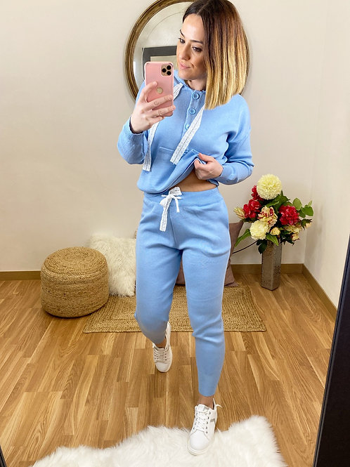 Conjunto Alba azul
