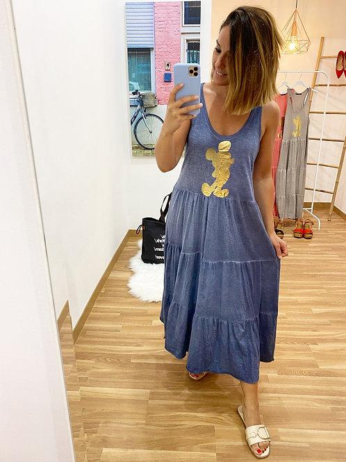 Vestido Mallorca Mickey azul