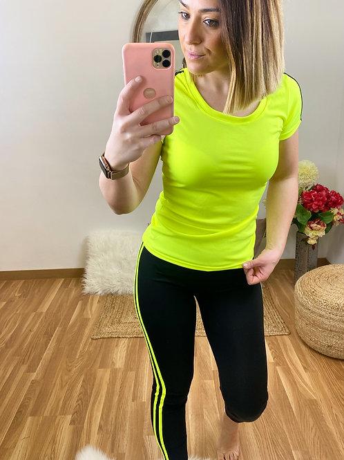 Conjunto Running Irina amarillo