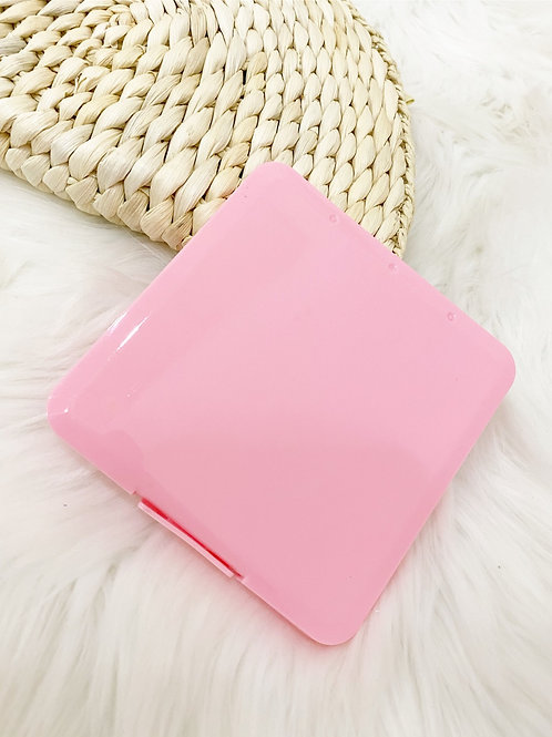 Porta mascarilla rosa