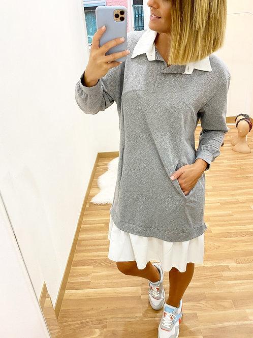 Vestido Valeria gris