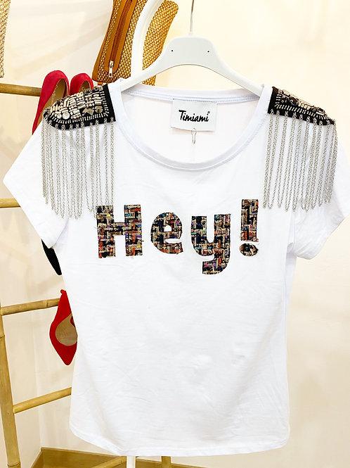 Camiseta Hey!