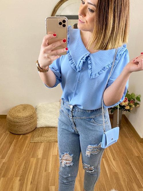 Camisa Rocío azul