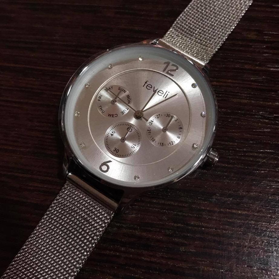 PlateadoLlevameaparis Feveli Feveli Reloj Reloj PlateadoLlevameaparis Reloj Feveli IY6vy7gbf