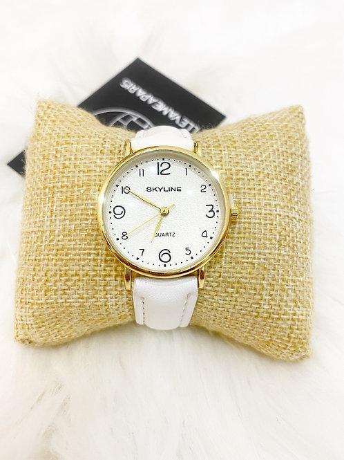 Reloj clasico blanco