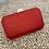 Thumbnail: Bolso clutch rojo