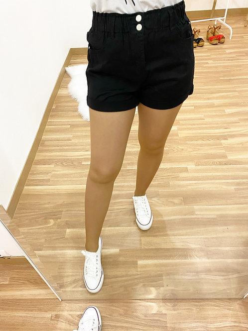 Short Cándida negro