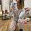 Thumbnail: Pijama osito love gris