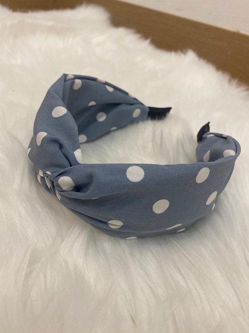Diadema Topitos azul