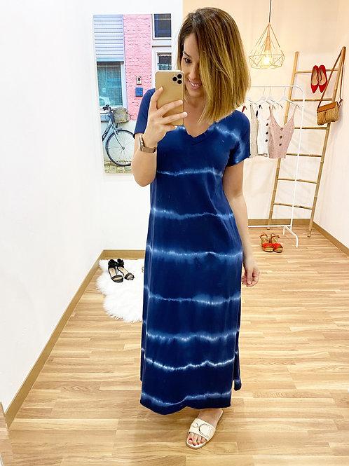 Vestido Paloma marino
