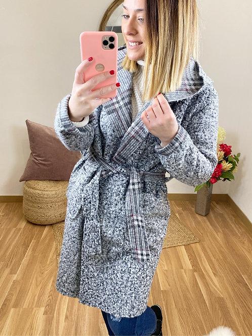 Abrigo borreguito gris
