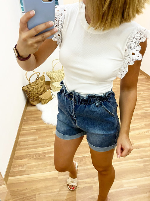 Camiseta Olga blanca